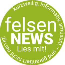 Button Felsen Newsletter