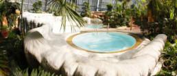 kago referenzen schwimmbad tropical island