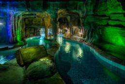 Wasserpark suntago Kunstfelsen, Grotte, Grottennachbildung