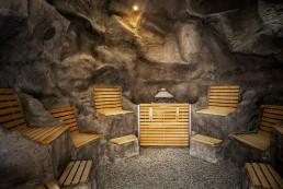 KaGo & Hammerschmidt Therme Hof Bad Sauna Felsen